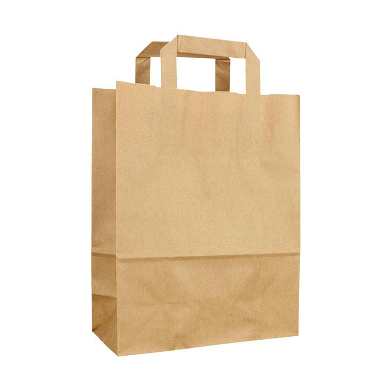 Professional custom kraft tote bag clothing gifts hand bags general packaging paper bag manufacturers wholesale