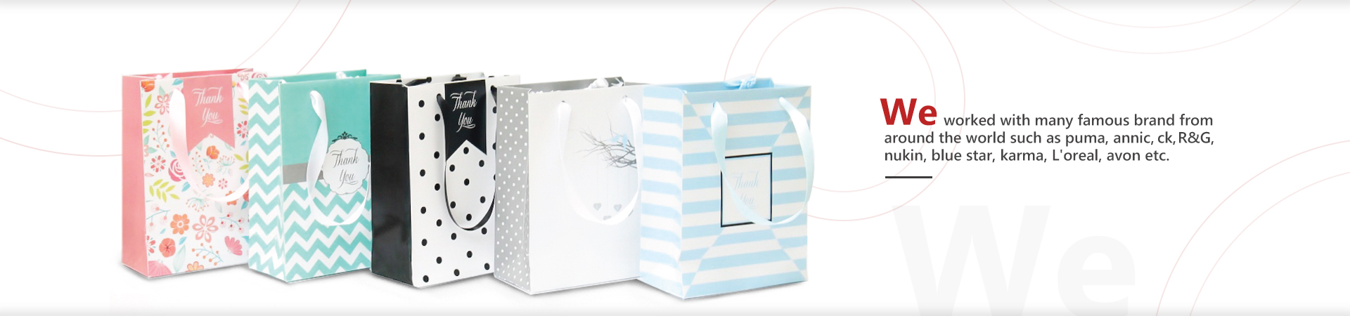 custom white kraft paper bag with your own logo-Guangjin