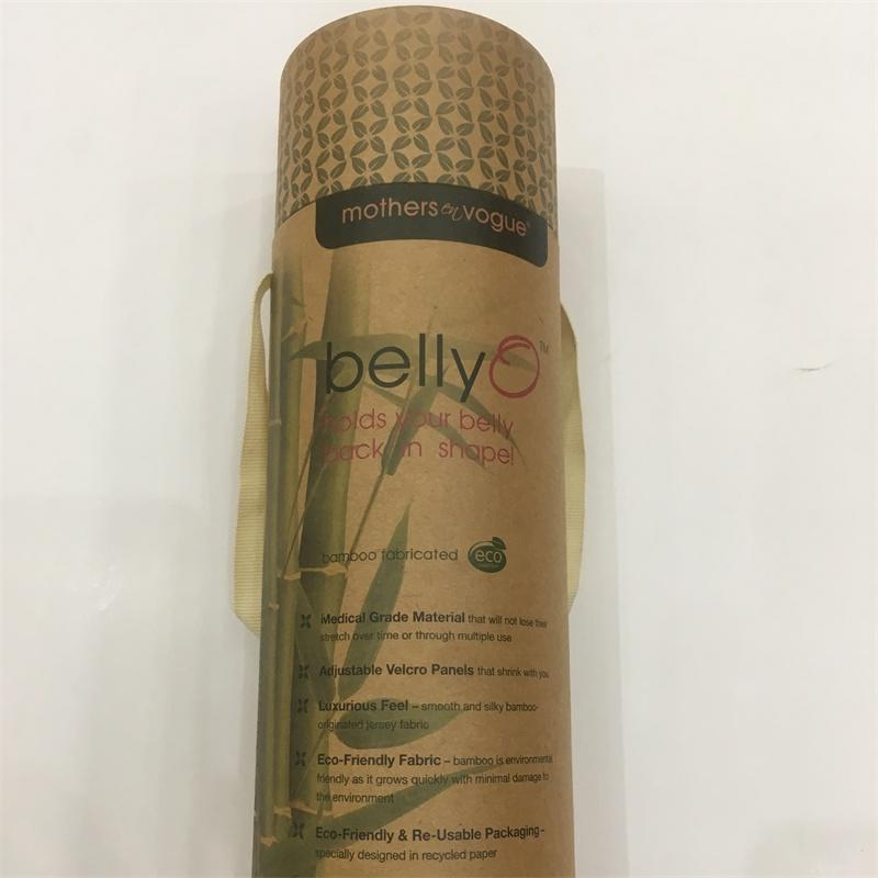 Kraft Tubes Wholesale Small Cardboard Tubes Paper Tube Packaging with clear PE lid