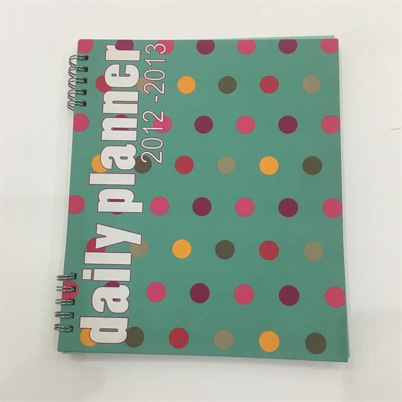 High quality customized logo office supply A5 paper notebook