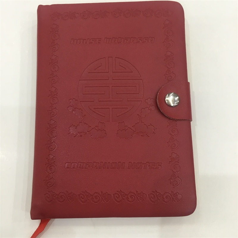 product-Guangjin -Custom High Quality Leather Hard Cover Notebook With Elastic Band a5 pu organizer-