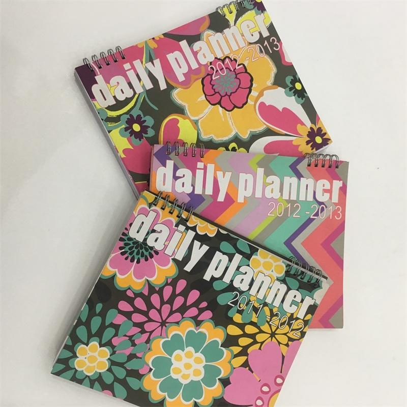 full color design cover notebook with spiral