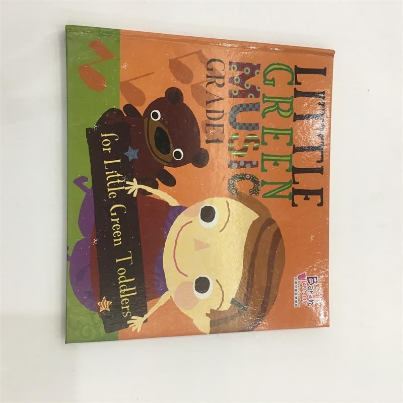 Full Color Custom Horizontal Book Children's Entertainment Book