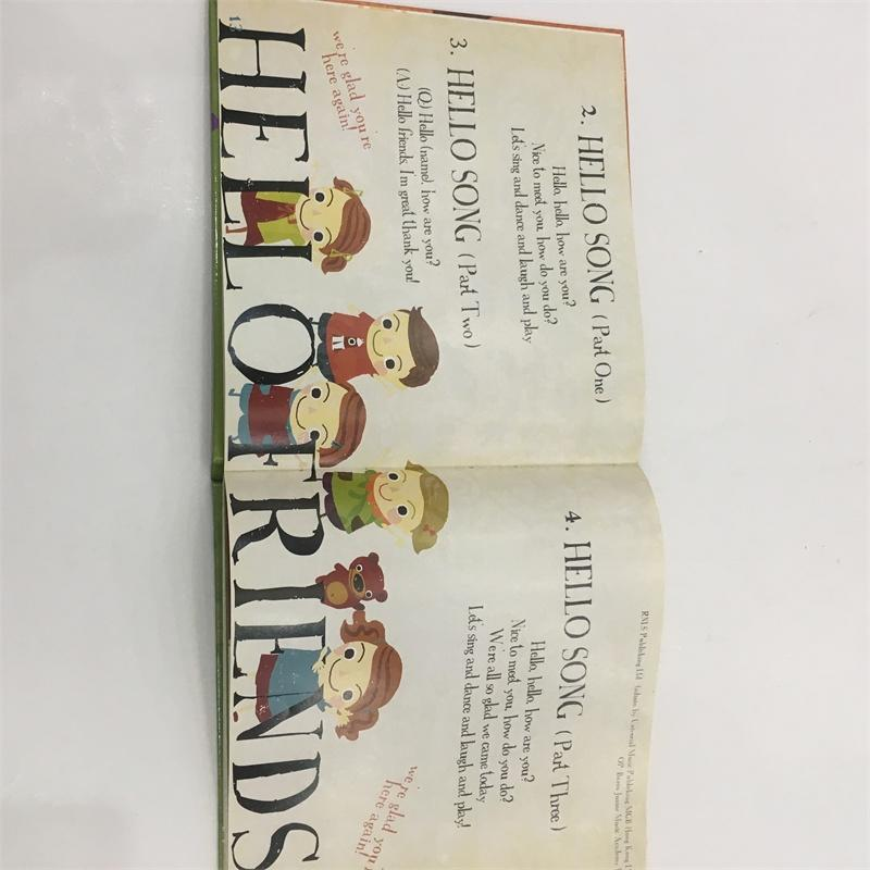 Full Color Custom Horizontal Book Children's Entertainment Book