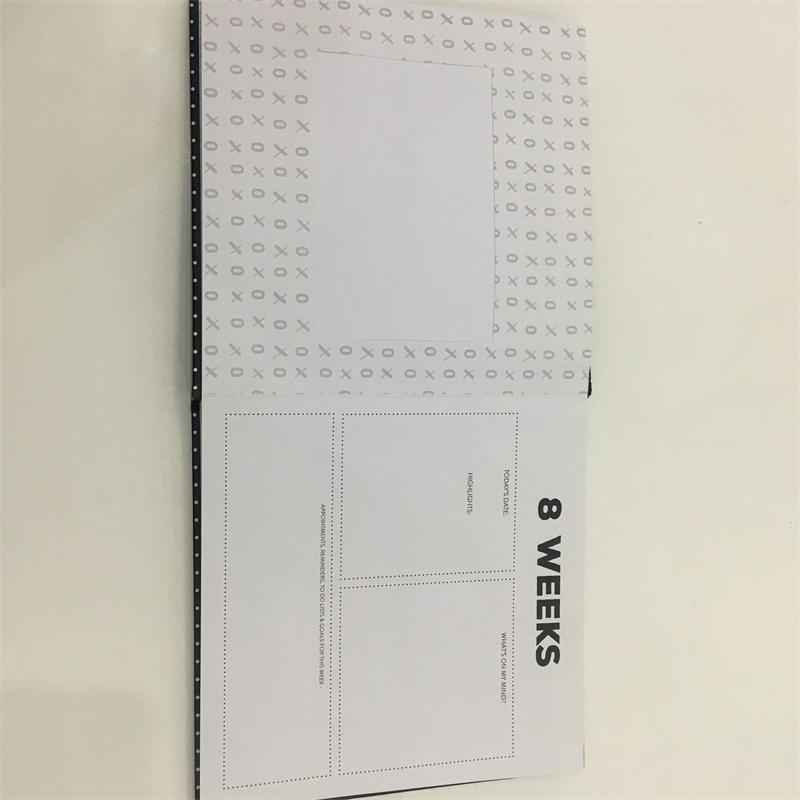 yearly agenda planner custom notebook