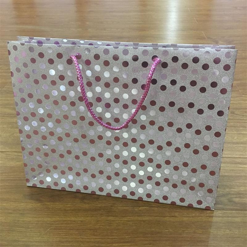 Fancy Paper Glitter Gift Paper bags