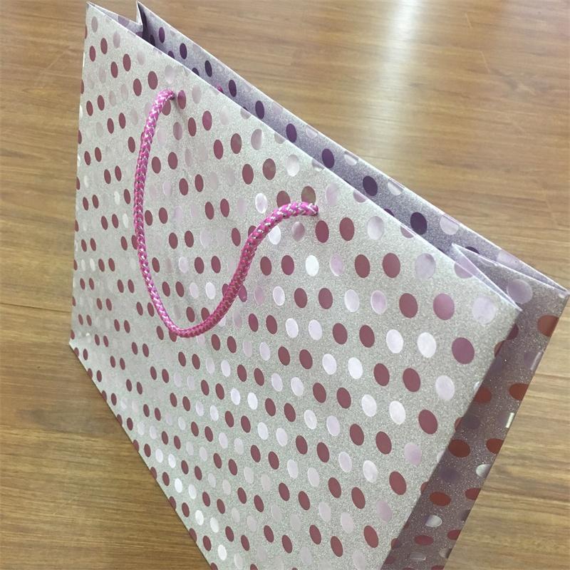 product-Guangjin -Fancy Paper Glitter Gift Paper bags-img