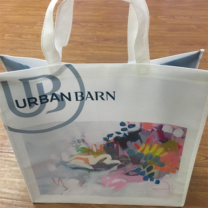Advertising Customized Reusable Non-woven Fabrics Shopping Bag