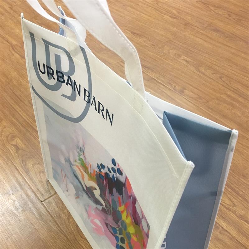 product-Advertising Customized Reusable Non-woven Fabrics Shopping Bag-Guangjin -img