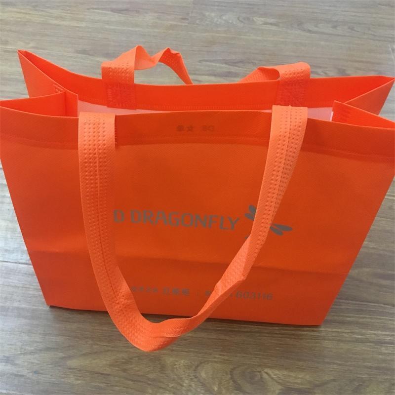 Custom Cheap Laminated Non-Woven Bag Promotional Shopping Bag