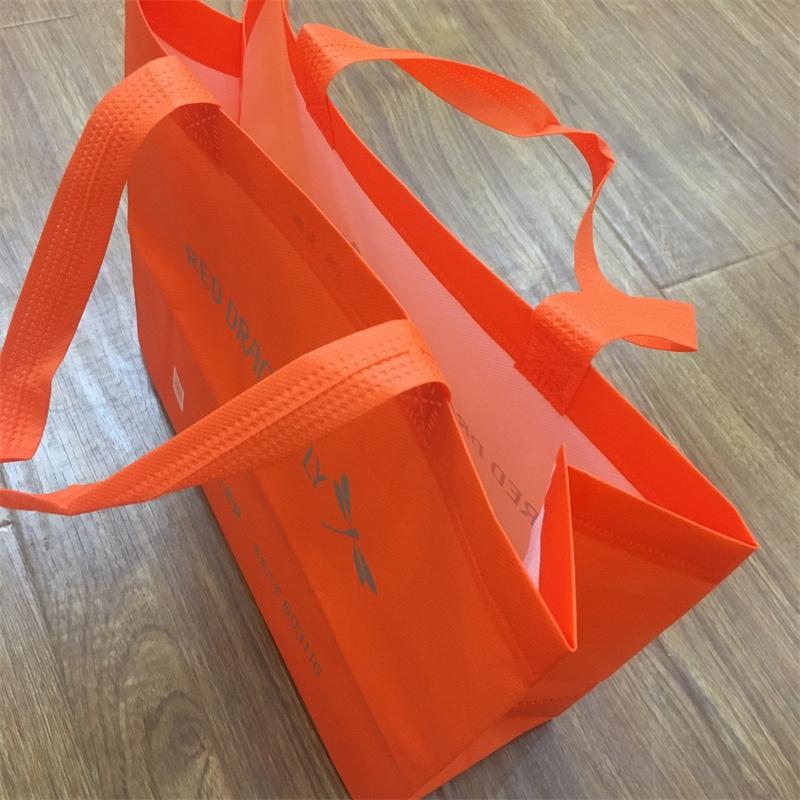 product-Guangjin -Custom Cheap Laminated Non-Woven Bag Promotional Shopping Bag-img