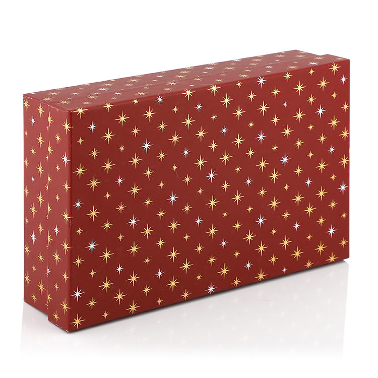 Matte paper cardboard gift box with strong quality