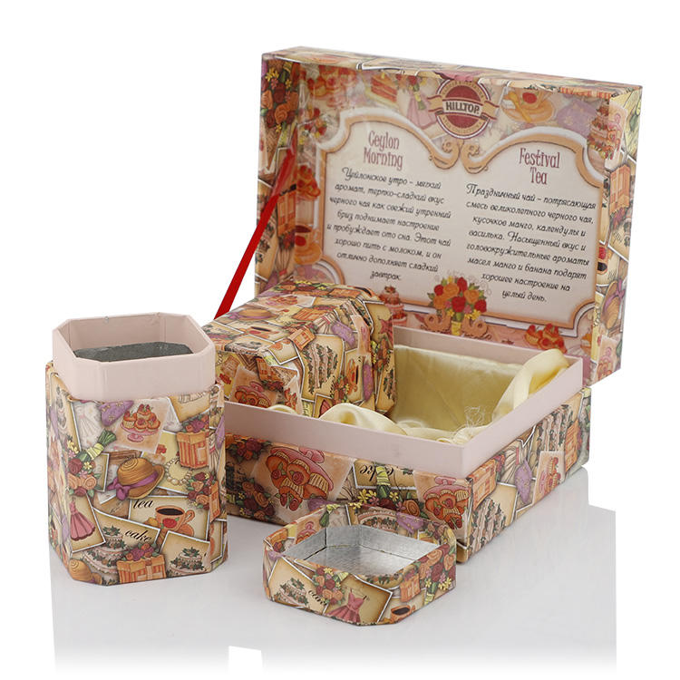 Custom paper box Christmas with luxury design supplier