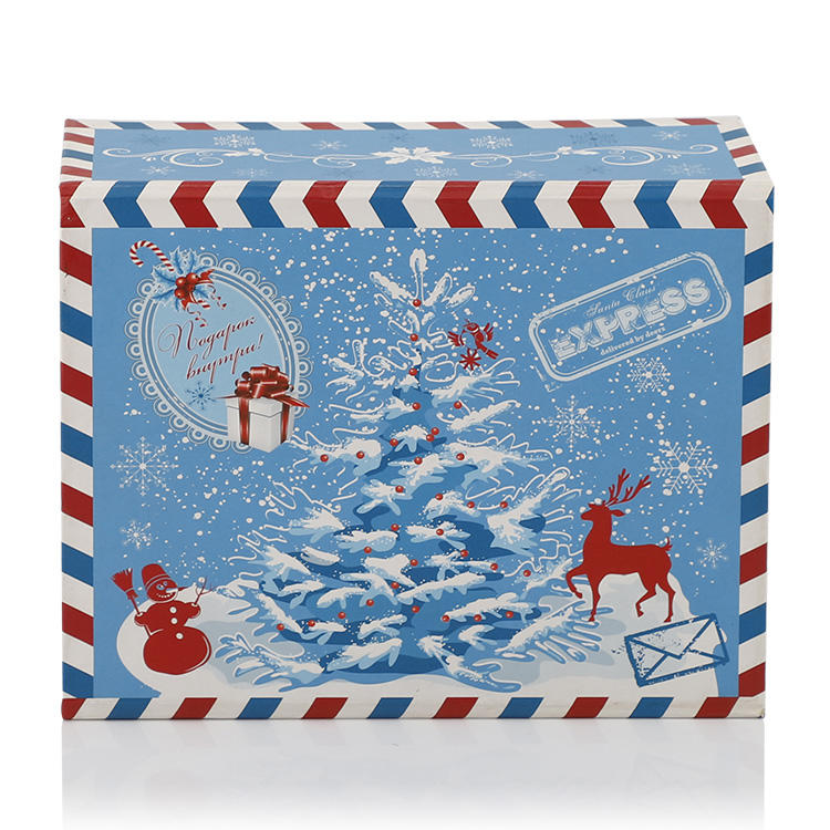 Custom wholesale gift box for christmas manufacturer