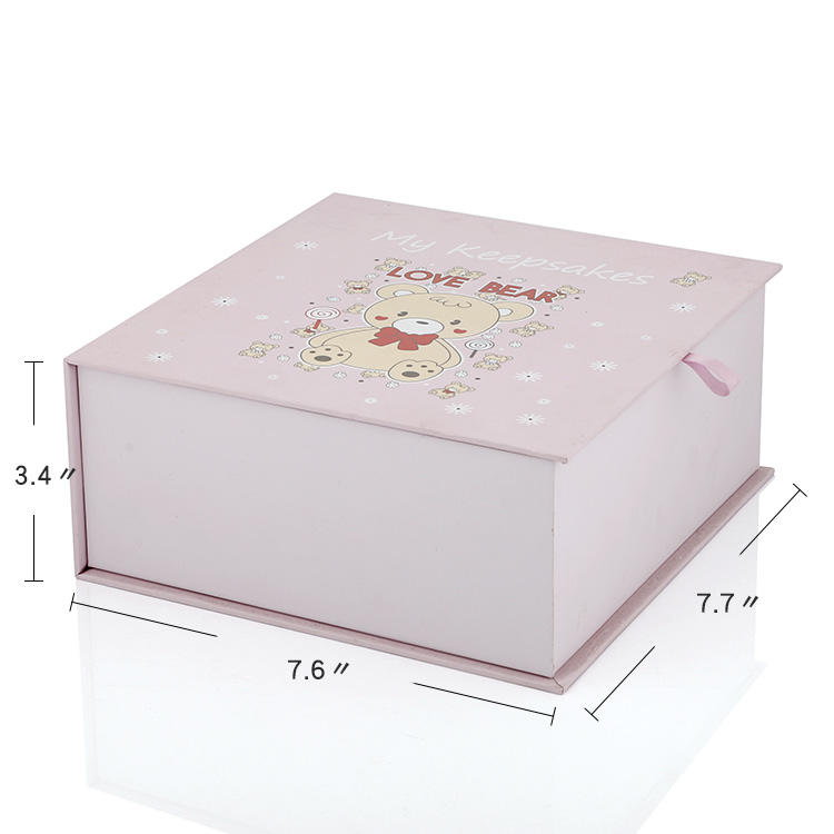 Personalized gift box for kids pattern with made manufacture