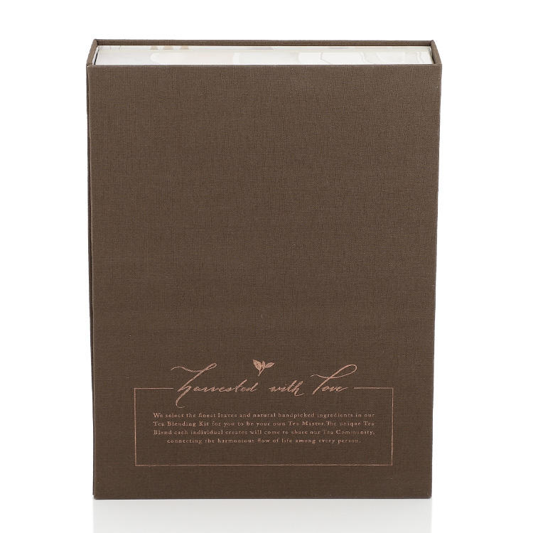 Book Style Paper Bag Paper Bags Wholesale with Inner Instruction